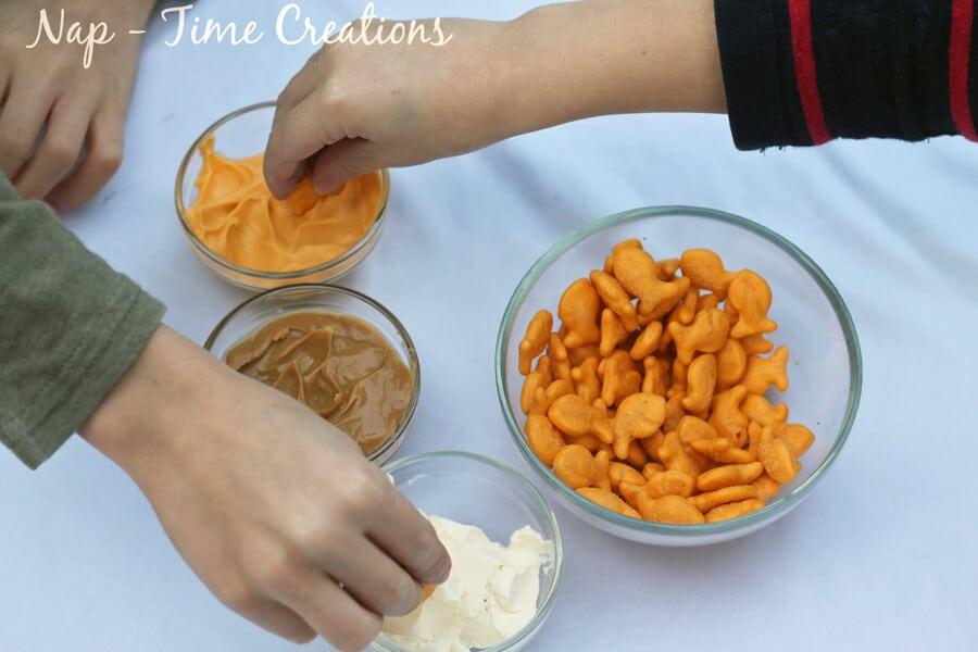 goldfish math and dips