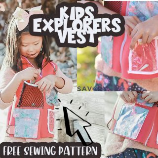 Little Explorers Vest Free Pattern {Boys and Girls!}
