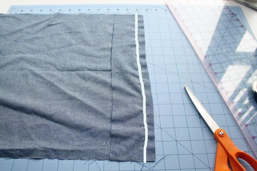 throw pillow sewing tutorial
