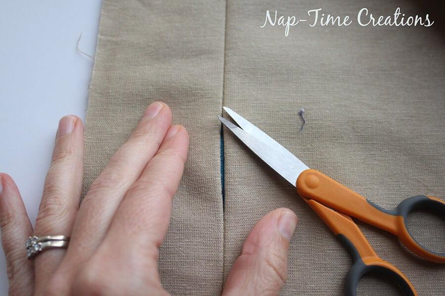 zipper throw pillow tutorial