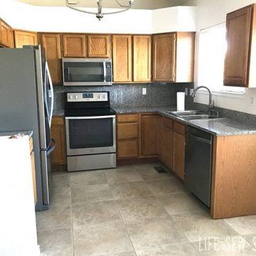 new house kitchen