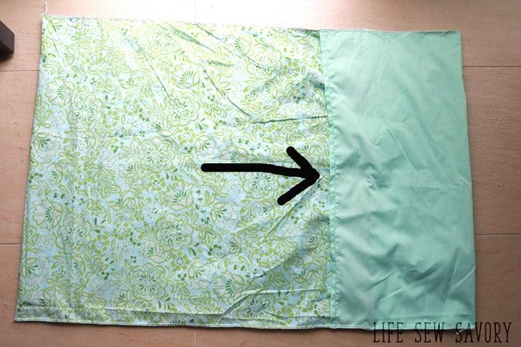 pillowcase sewing tutorial