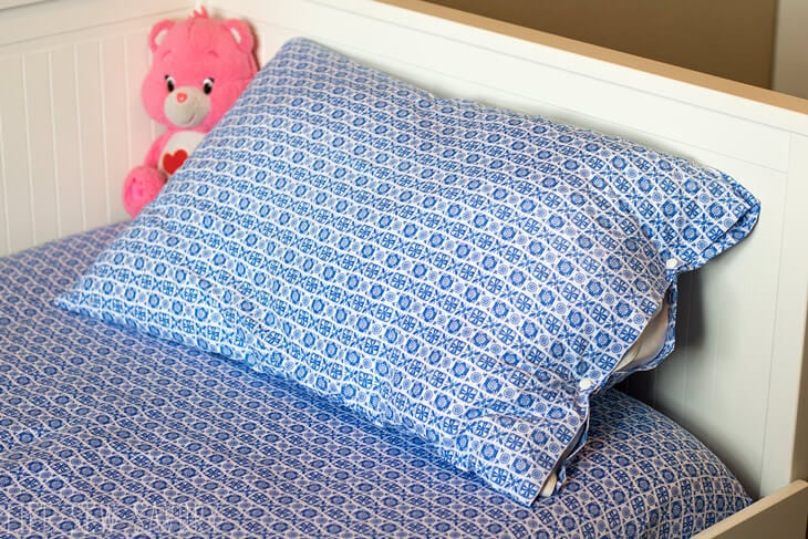 easy Fix easy no sew tutorial for pillows
