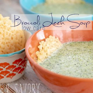 Low Carb Soup - Broccoli and Leek