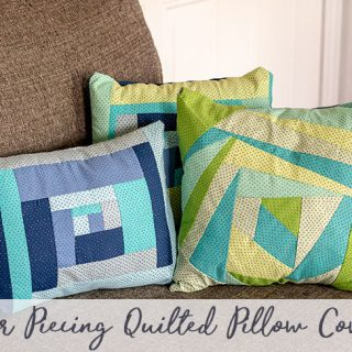 Paper Pieced Quilt Pattern - Throw Pillow