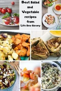 best salad and vegetable recipes from Life Sew Savory