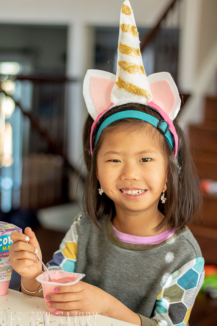 magical felt unicorn headband