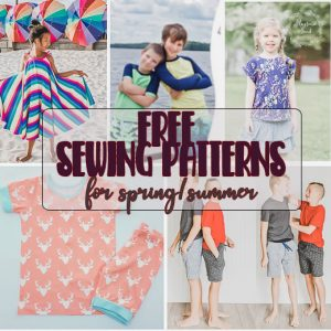 Sewing Patterns for Kids - Free for Summer