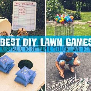 Best Yard Games - To Make or Buy