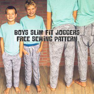 Kids Sweatpants Sewing Pattern - FREE
