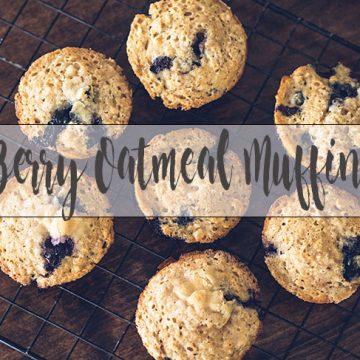 blueberry oatmeal muffin recipe