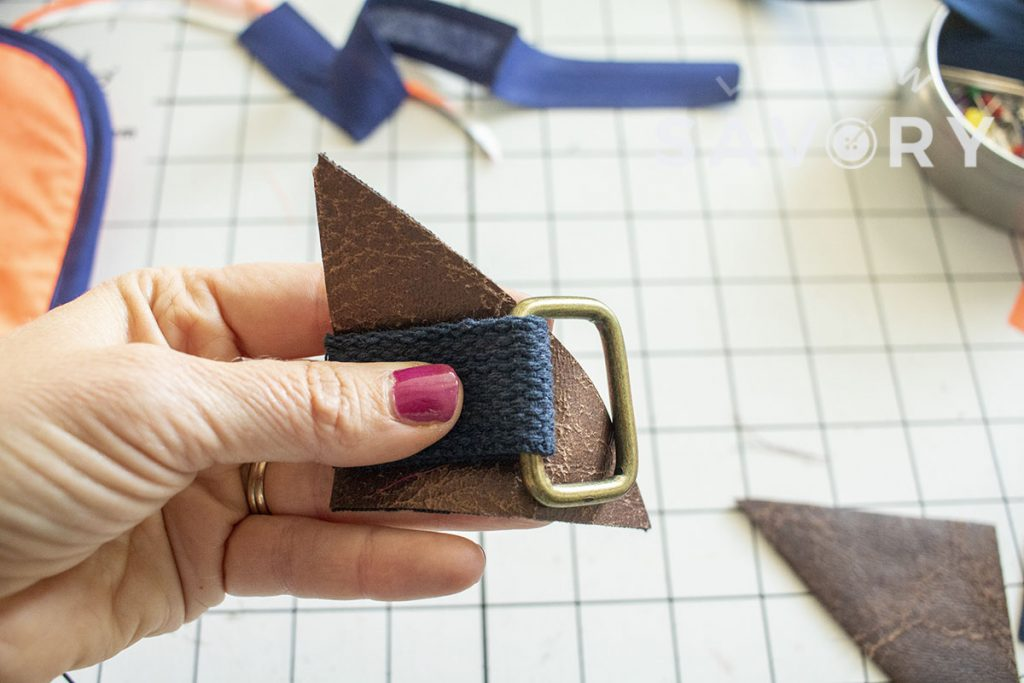 free sling backpack sewing pattern and tutorial