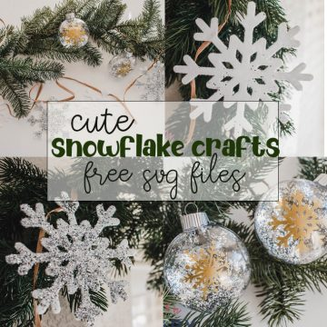 cute snowflake crafts