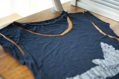 Tee Something Old New Repurpose Shirt