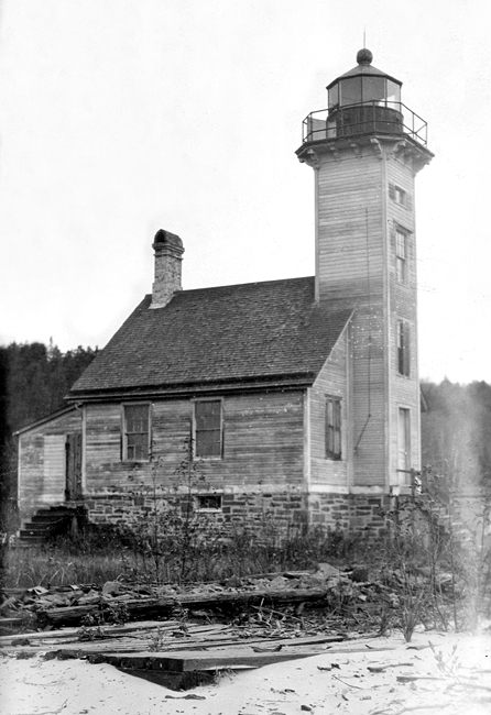 Grand Island East Channel Lighthouse Michigan At
