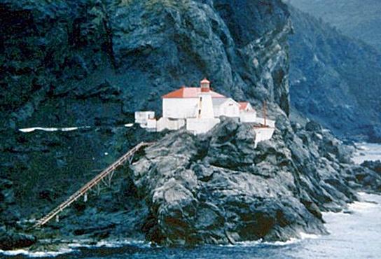 South Head Lighthouse Newfoundland Canada At