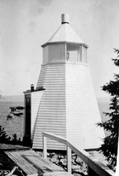 Westport Cove Lighthouse Newfoundland Canada At