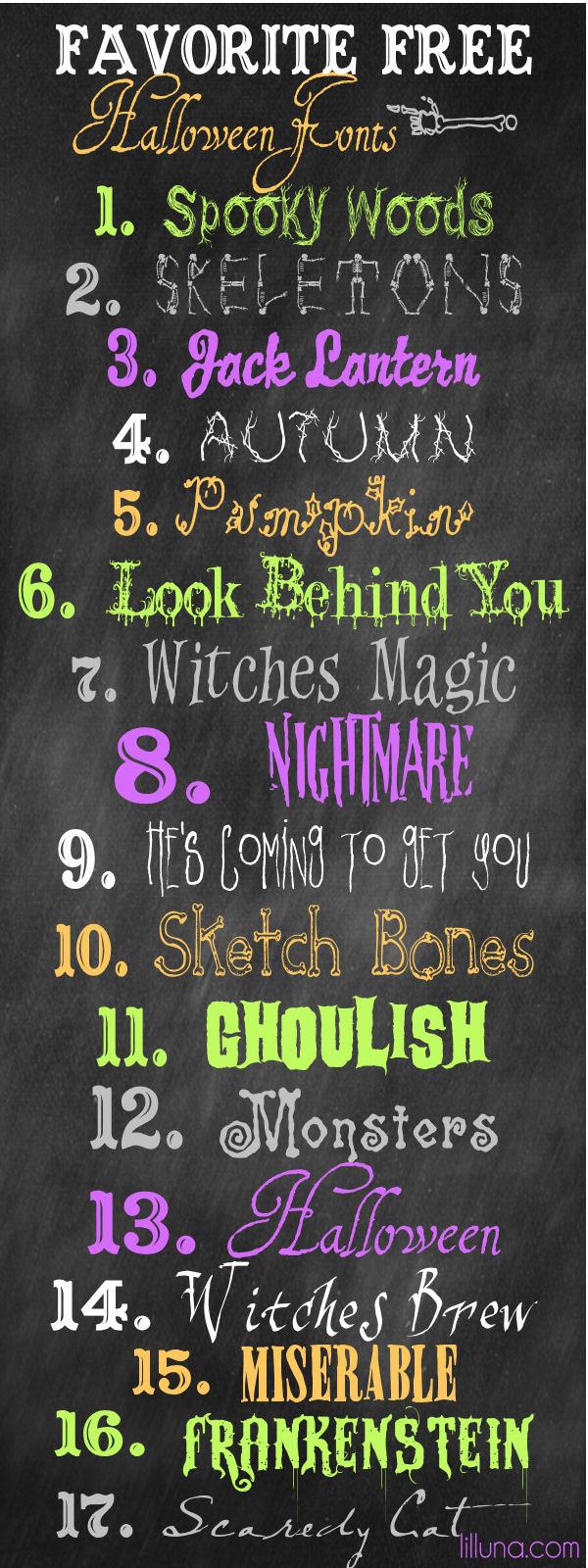 free halloween fonts # 17