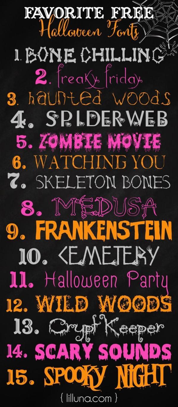 free halloween fonts # 0