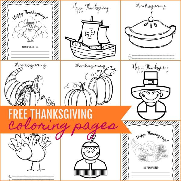 thanksgiving coloring pages # 32