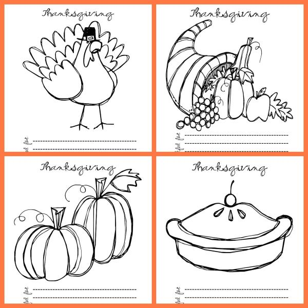 thanksgiving coloring pages printables # 12
