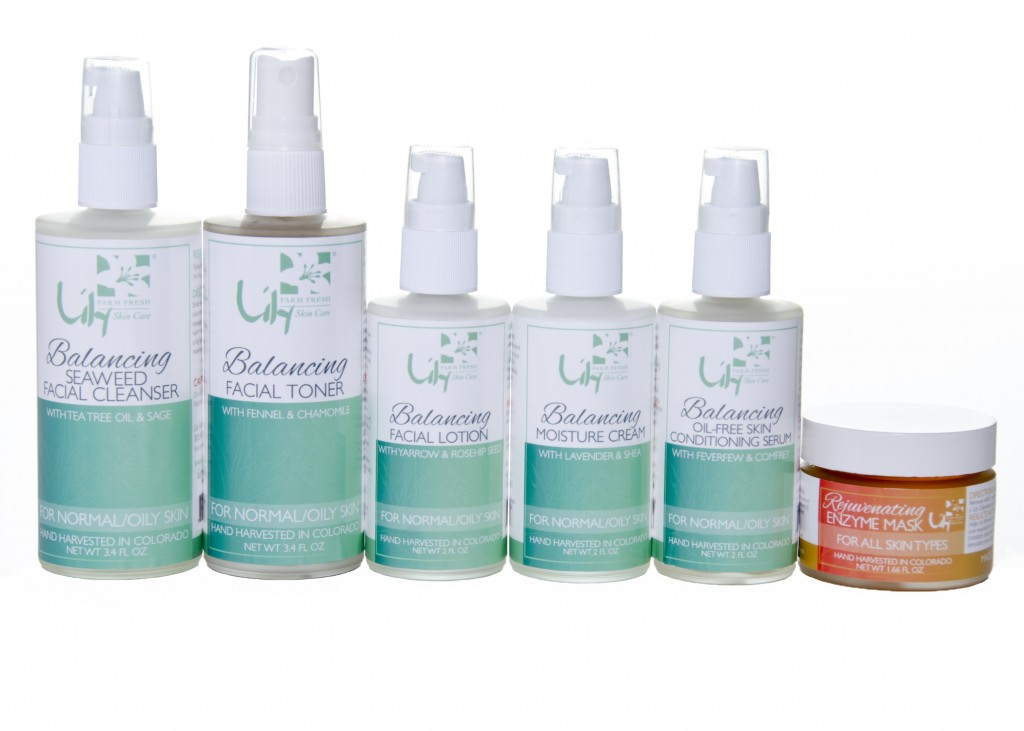 Lily Farm Fresh Skin Care Products
