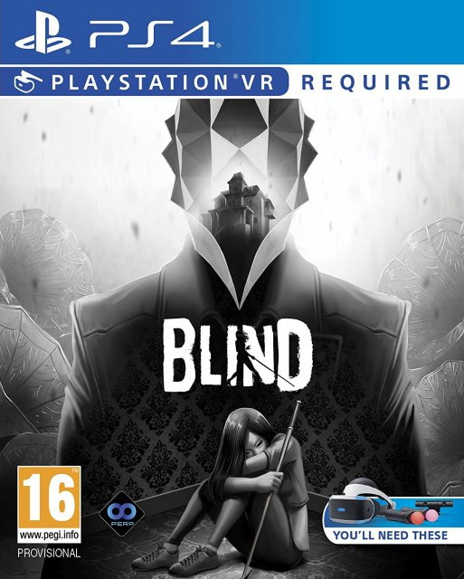 Blind for PlayStation VR  PS4    Limited Game News blind perpetual games perp games ps4 psvr cover