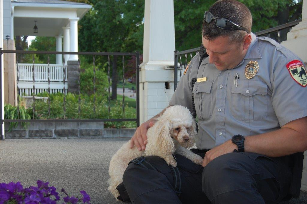 Interview with an Animal Control Officer  Part 1     Lincoln Animal     Steve Lowry on a call with a small dog that was running loose from a home