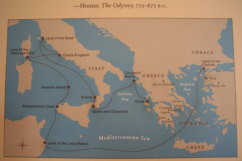 Adventure Odysseus S Map