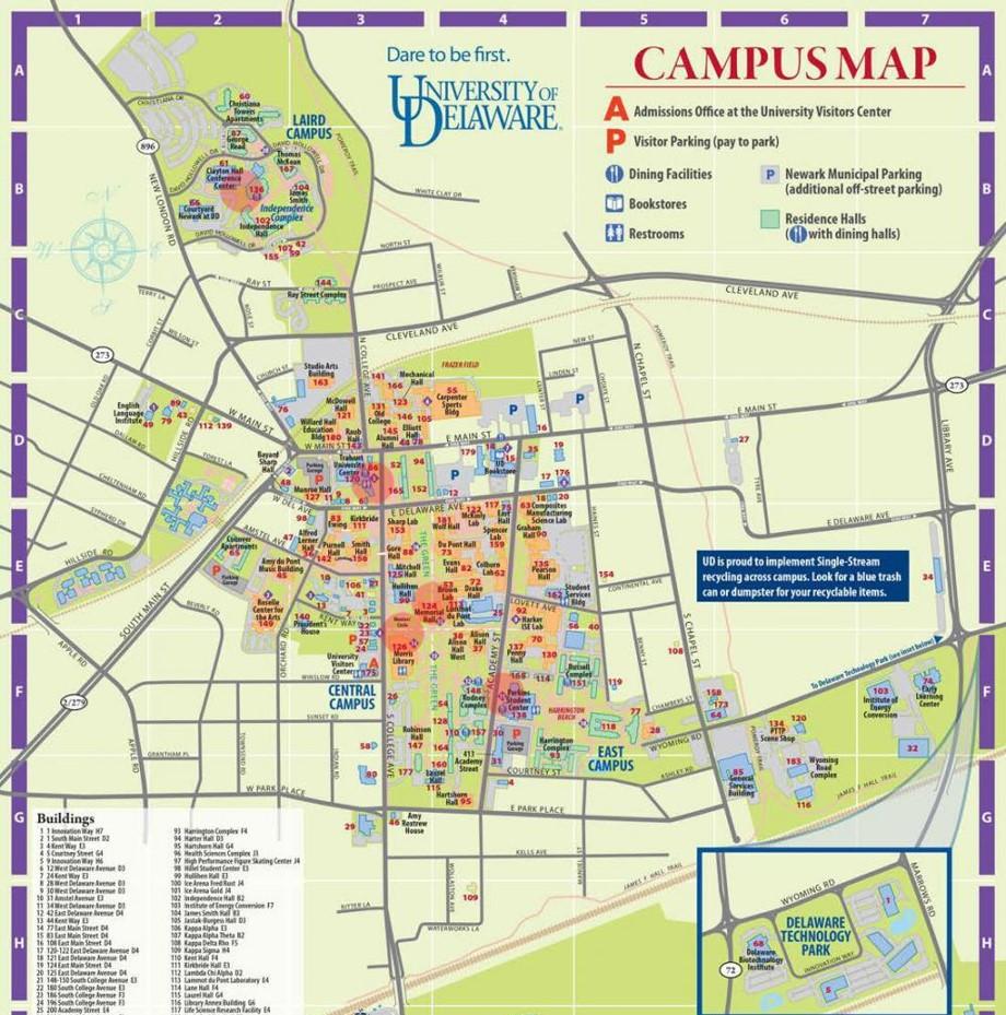 Wichita State University Map Canda Map