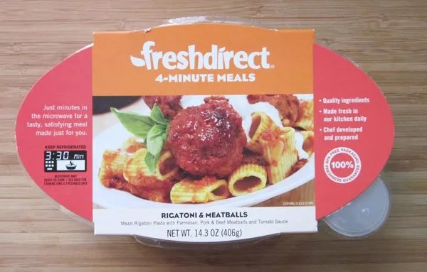 Fresh Direct Meals Review