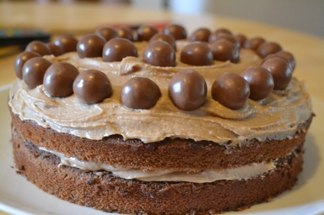 Lisa Bakes Chocolate Malteser Cake With Malted