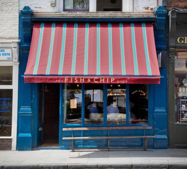 Fish Restaurant Upper Street