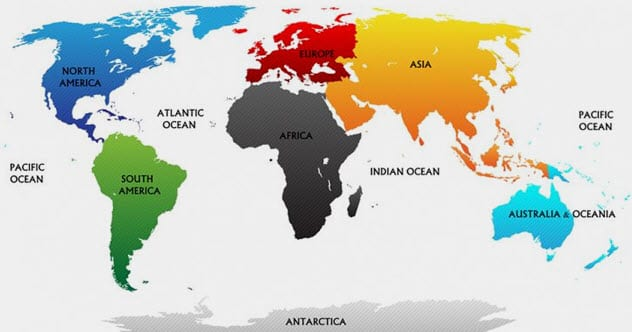 10 Fascinating Facts About The Continents - Listverse