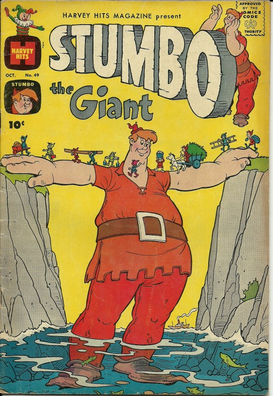 Stumbo The Giant No 49 October 1961 In Good Condition All Pages Front And Back Covers Are