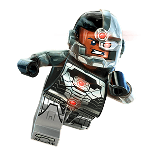 Cyborg Rules on Christmas Eve Eve  23rd Day of the Lego Christmas     On this Christmas Eve Eve aka the 23rd Day of the Little Black Petals  Countdown to a Lego Christmas  we bring you the half man half machine  superhero bada