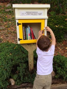 Little Free Library   Take a Book     Share a Book Little Free Library