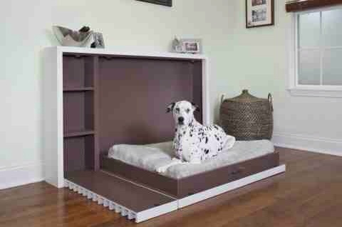 Ikea Hack Side Murphy Bed Dog Bed Again
