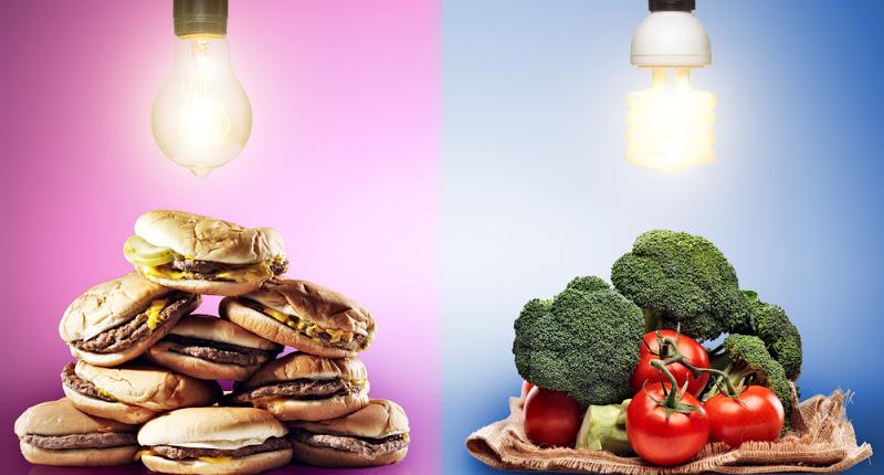 Fresh Food Vs Processed Food