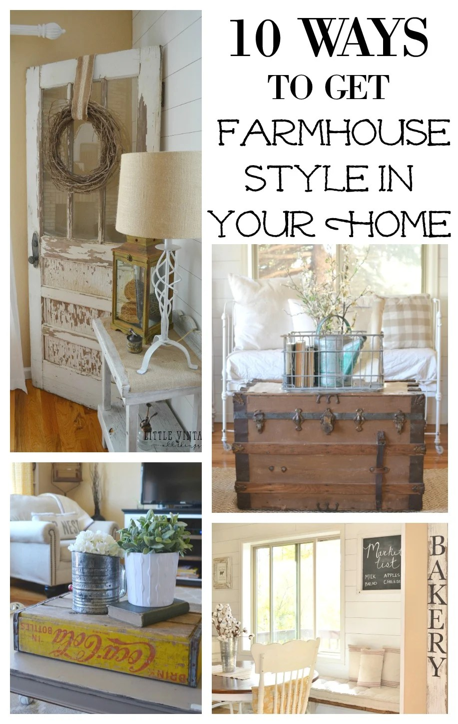 Simple Country Decorating Ideas