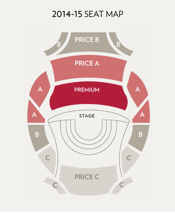 Knight Concert Hall Seating Map