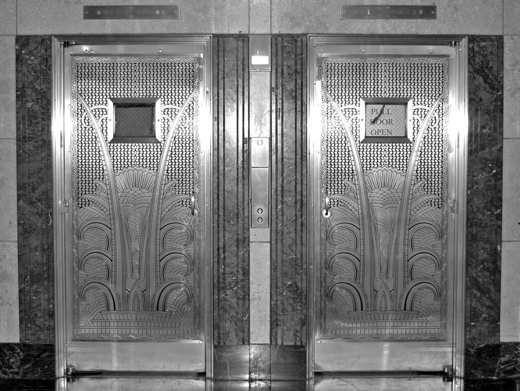 Ambassador Elevators Art Deco Elevator Doors In The