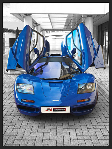 Mclaren F1 Doors Mclaren F1 Photographed With Doors