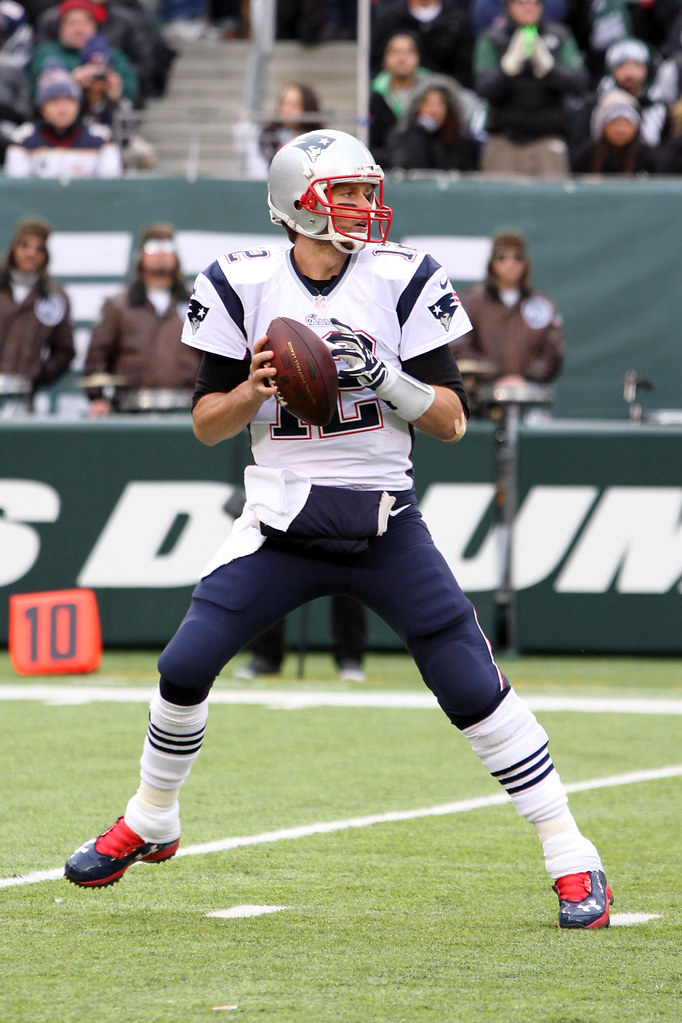 Tom Brady New England Patriots Against The New York