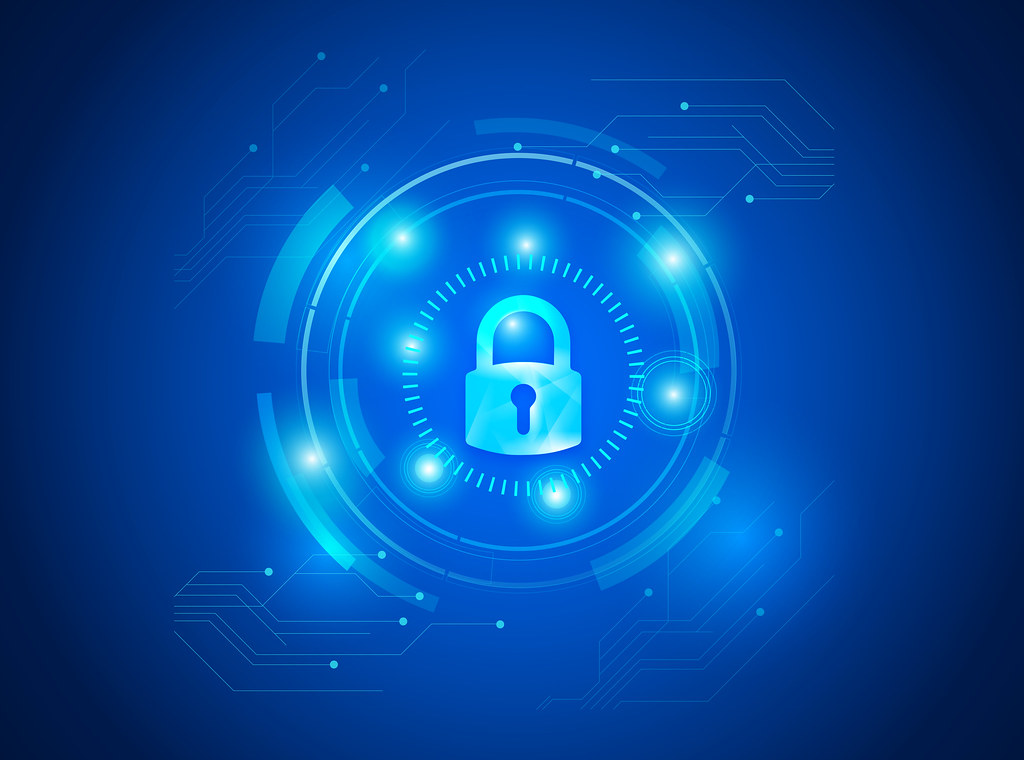 Information Security With Padlock This Image Is Free To