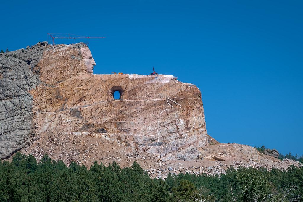 Crazy Horse Memorial South Dakota The Crazy Horse