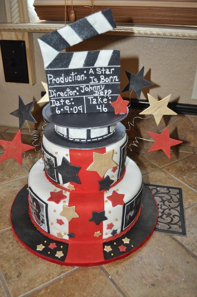 Johnny Depp Birthday Cake Chocolate Cake With Fondant