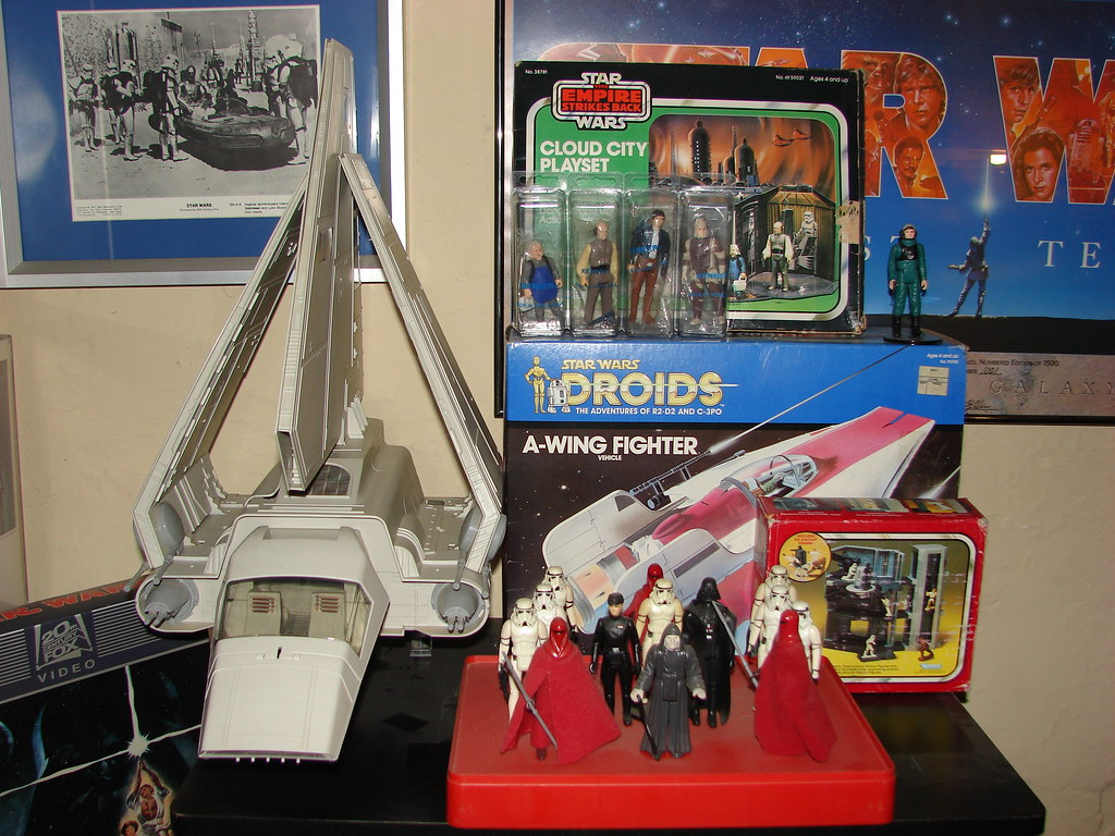 Star Wars Vintage 1977 1984 Toys Droids A Wing Fighter