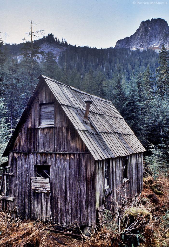Abandoned Mining Cabin Washington State Old Miners