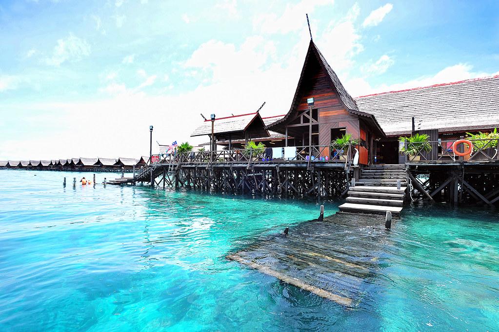 Kapalai Island Resort Semporna Sabah Malaysian North